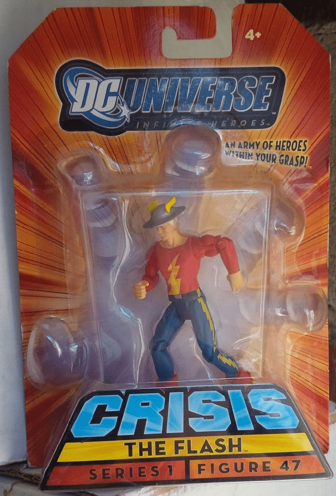 DC Universe Infinite Heroes Crisis Golden Age The Flash Figure