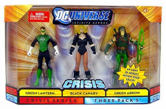 DC Infinite Heroes Green Lantern, Black Canary & Green Arrow Set