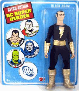 Retro-Action DC Super Heroes Black Adam Figure