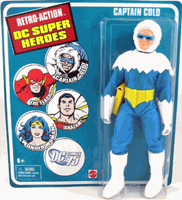 Retro-Action DC Super Heroes Captain Cold Figure