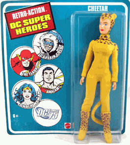 Retro-Action DC Super Heroes Cheetah Figure