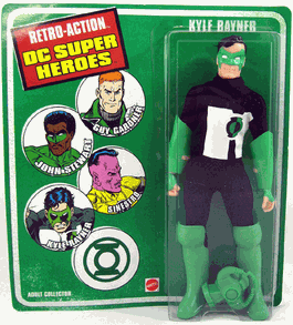 Retro-Action DC Super Heroes Kyle Rayner Figure