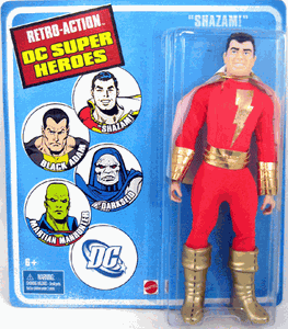 Retro-Action DC Super Heroes Shazam Figure