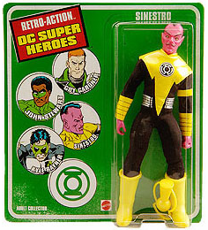 Retro-Action DC Super Heroes Sinestro Figure