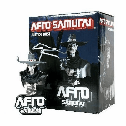 DC Unlimited Afro Samurai Justice Mini Bust