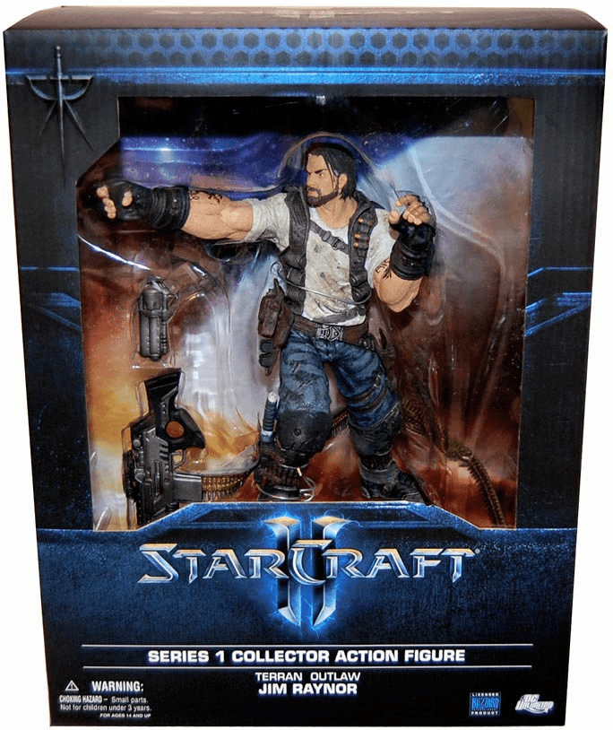 DC Unlimited Starcraft II Jim Raynor  Figure