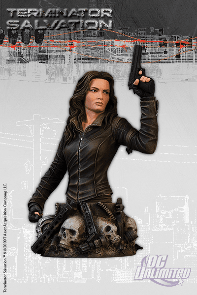 DC Unlimited Terminator Salvation Blair Williams Bust