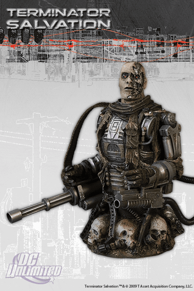 DC Unlimited Terminator Salvation T-600 Bust