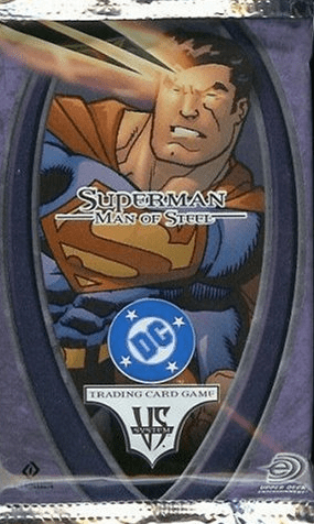 DC VS Superman Man of Steel Booster Pack