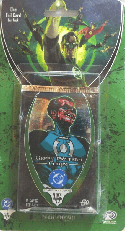 DC VS System TCG Green Lantern Corps Booster Pack