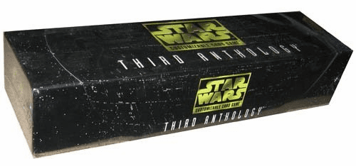 Decipher Star Wars CCG Third Anthology Boxed Card Set