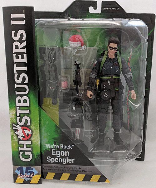 Diamond Select Ghostbusters 2 Egon Spengler Figure