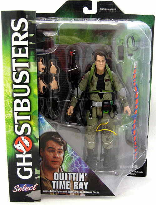 Diamond Select Ghostbusters Quittin Time Ray Figure