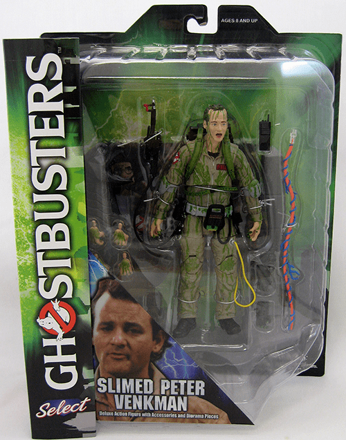 Diamond Select Ghostbusters Slimed Peter Venkman Figure