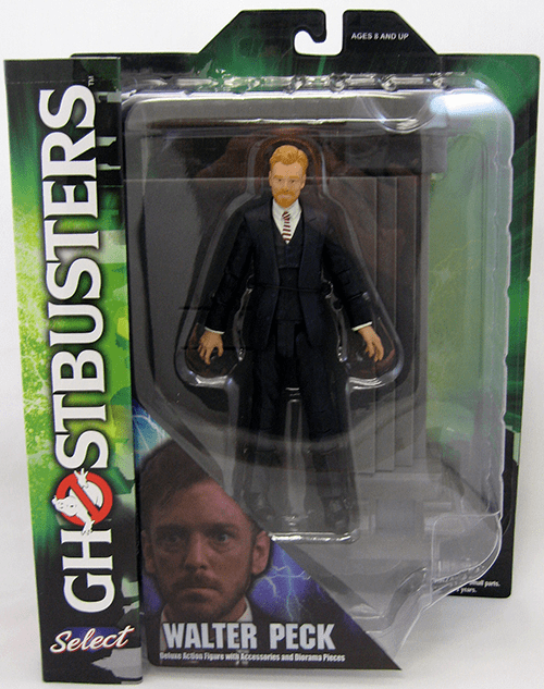 Diamond Select Ghostbusters Walter Peck Figure