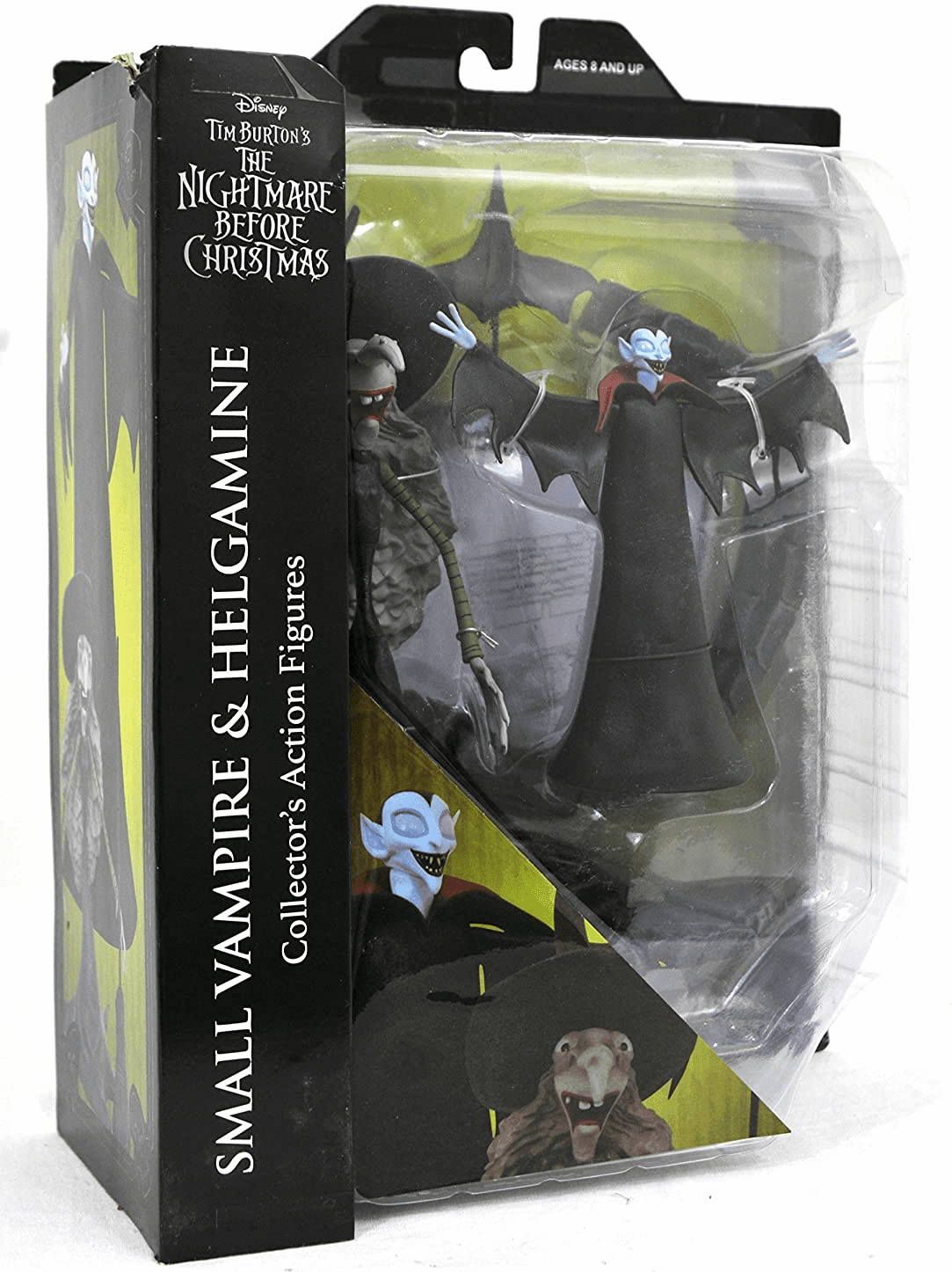 Diamond Select Nightmare Before Christmas Small Vampire and Helgamine Figure