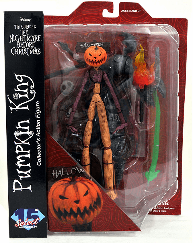Diamond Select Nightmare Before Christmas The Pumpkin King Figure