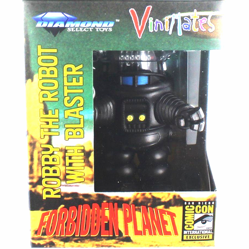 Diamond Select Robby the Robot with Blaster SDCC Vinimate