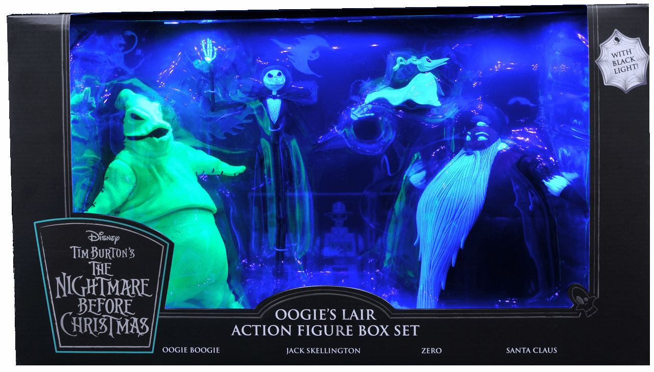 Diamond Select SDCC 2020 Nightmare Before Christmas Oogie's Lair Figure Box Set