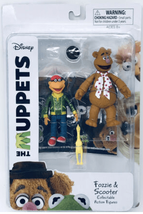 Diamond Select The Muppets Fozzie and Scooter Set