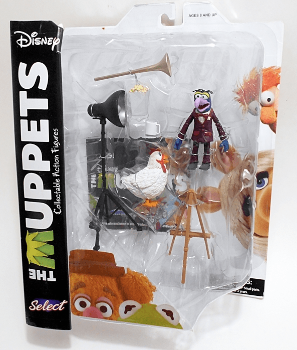 Diamond Select The Muppets Gonzo and Camilla Set