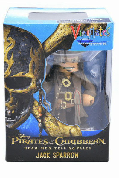 Diamond Select Toys Pirates of the Caribbean Jack Sparrow Vinimate