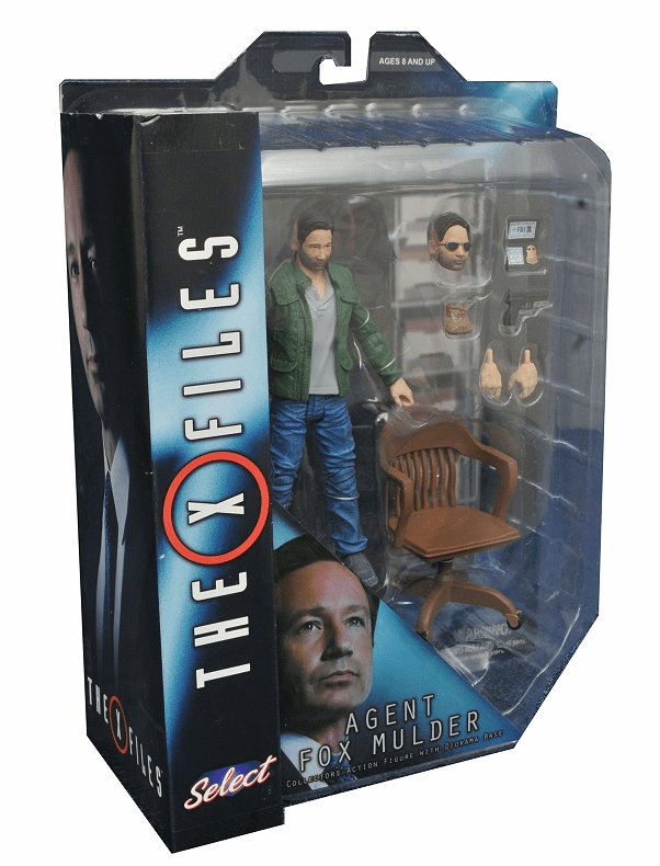 Diamond Select Toys X-Files Fox Mulder Figure