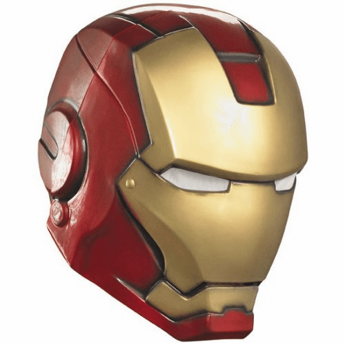 Disguise Iron Man Movie 2 Mark VI Adult Costume Helmet