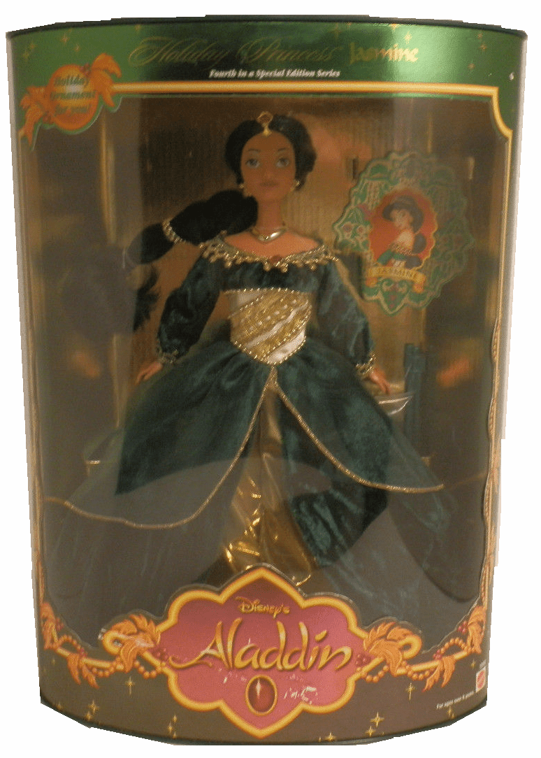 Disney Aladdin Holiday Princess Jasmine Doll