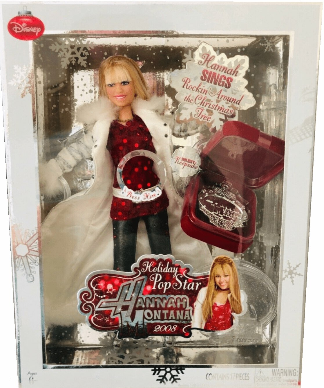 Disney Hannah Montana Holiday Pop Star Doll