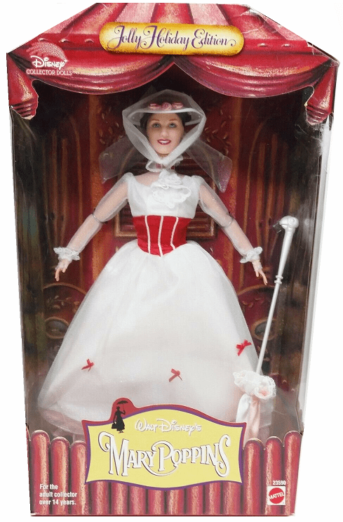 Disney Jolly Holiday Edition Mary Poppins Doll