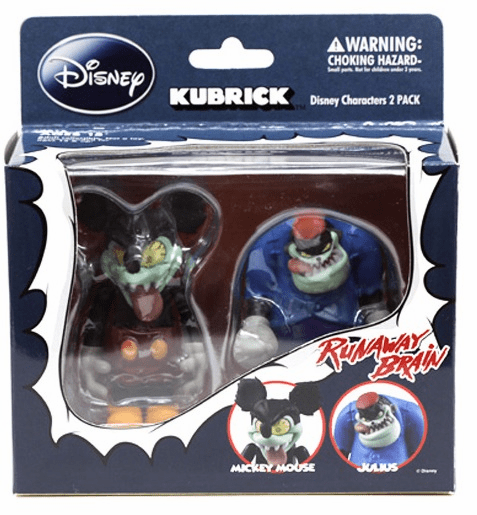 Disney Kubrick Runaway Brain Set
