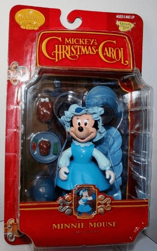 Disney Mickey's Christmas Carol Minnie Mouse Figure