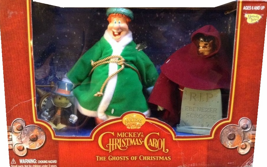 Disney Mickey's Christmas Carol The Ghosts of Christmas Box Set