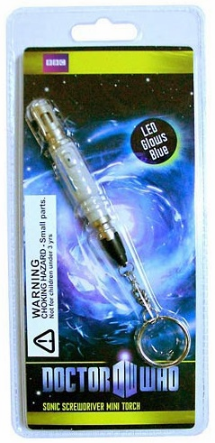 Doctor Who 10th Doctor Sonic Screwdriver LED Torch Replica