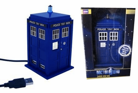 Doctor Who 11th Doctor Tardis USB Hub