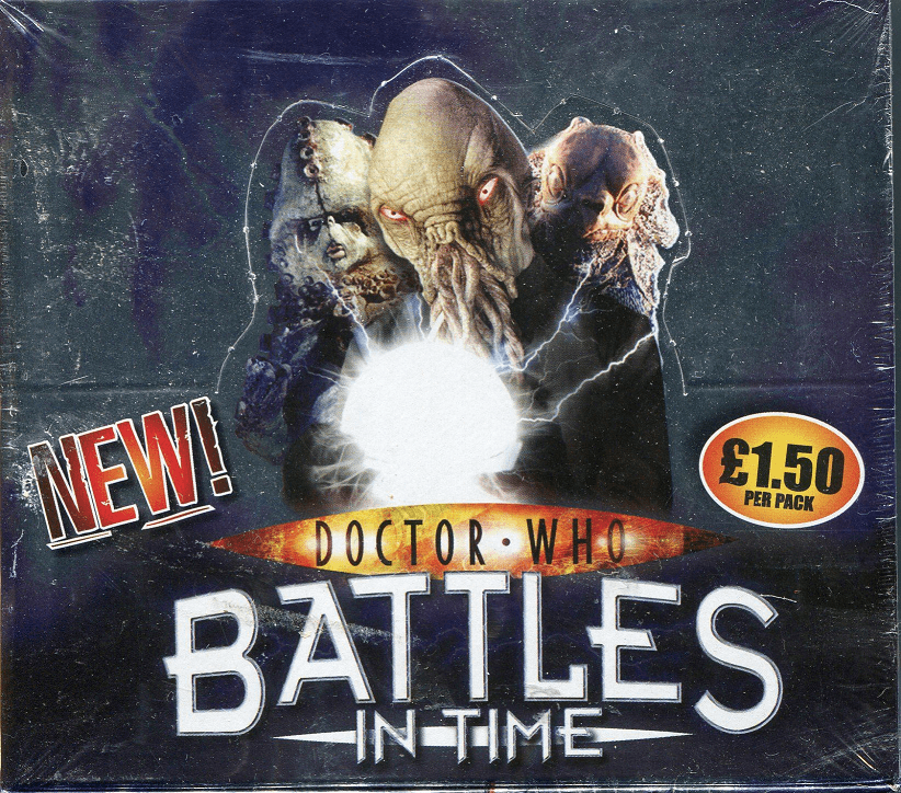 Doctor Who Battles in Time Ultimate Monsters Collectible Trading Cards Box