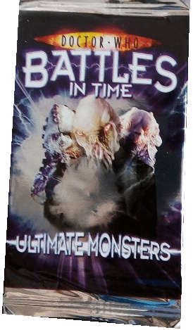 Doctor Who Battles in Time Ultimate Monsters Trading Cards Pack