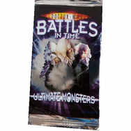 Doctor Who Battles in Time Ultimate Monsters Collectible Trading Cards Pack