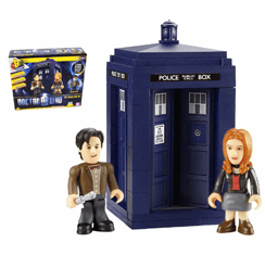 Doctor Who Character Building Tardis Mini Set