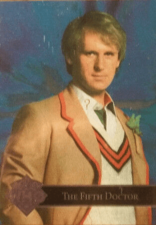 Doctor Who Cornerstone Series 3 Fifth Doctor Foil Card