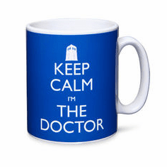 Doctor Who Keep Calm I'm The Doctor Ceramic Mug