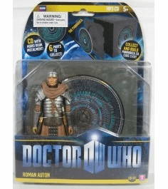 Doctor Who Roman Auton with CD Figure