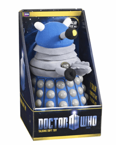 Doctor Who Talking Blue Dalek Plush