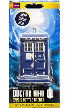 Doctor Who Tardis Sound Effect Bottle Opener
