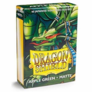 Dragon Shield Japanese Matte Apple Green Card Sleeves