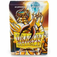 Dragon Shield Japanese Matte Gold Card Sleeves