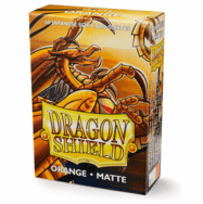 Dragon Shield Japanese Matte Orange Card Sleeves