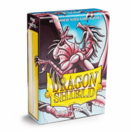 Dragon Shield Japanese Matte Pink Card Sleeves