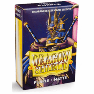Dragon Shield Japanese Matte Purple Card Sleeves